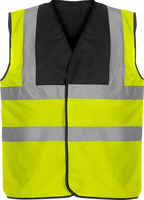 Security Vest two-tone 4 strips