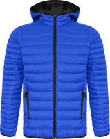 Hooded light down Jacket Men
