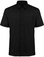 Short Sleeve poplin Men Shirt