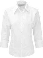 Slim fit Shirt Women Luxury 3/4 sleeve