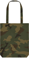 Tote Bag Camouflage AOP