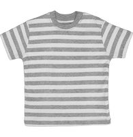 T-shirt baby with stripes