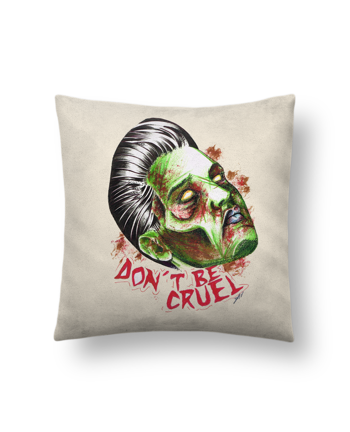 Cushion suede touch 45 x 45 cm Don't be cruel by david