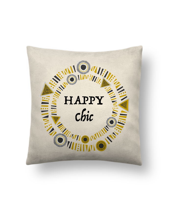 Cushion suede touch 45 x 45 cm Happy Chic by LF Design