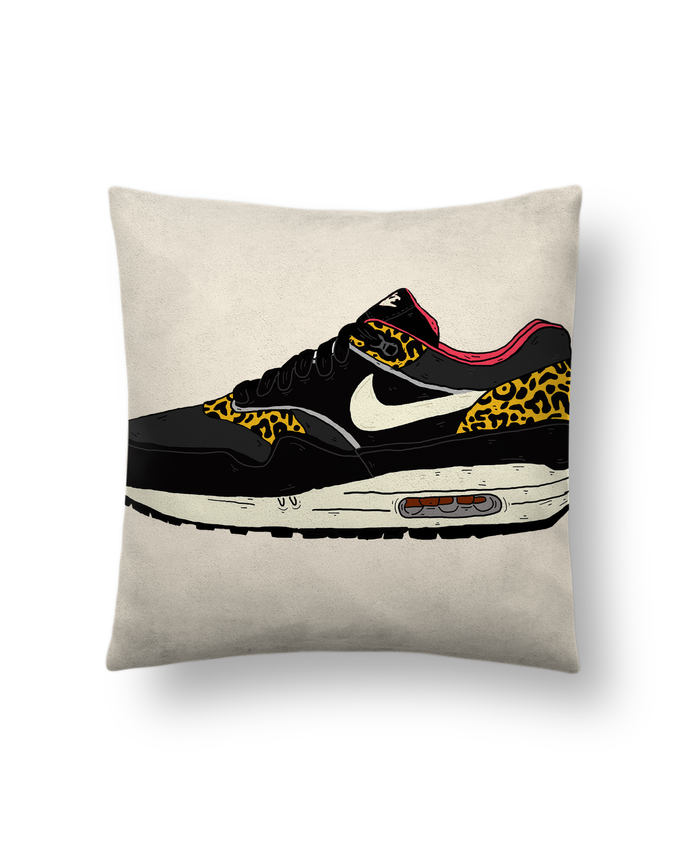 Cushion suede touch 45 x 45 cm Airmax léobyd by Nick cocozza