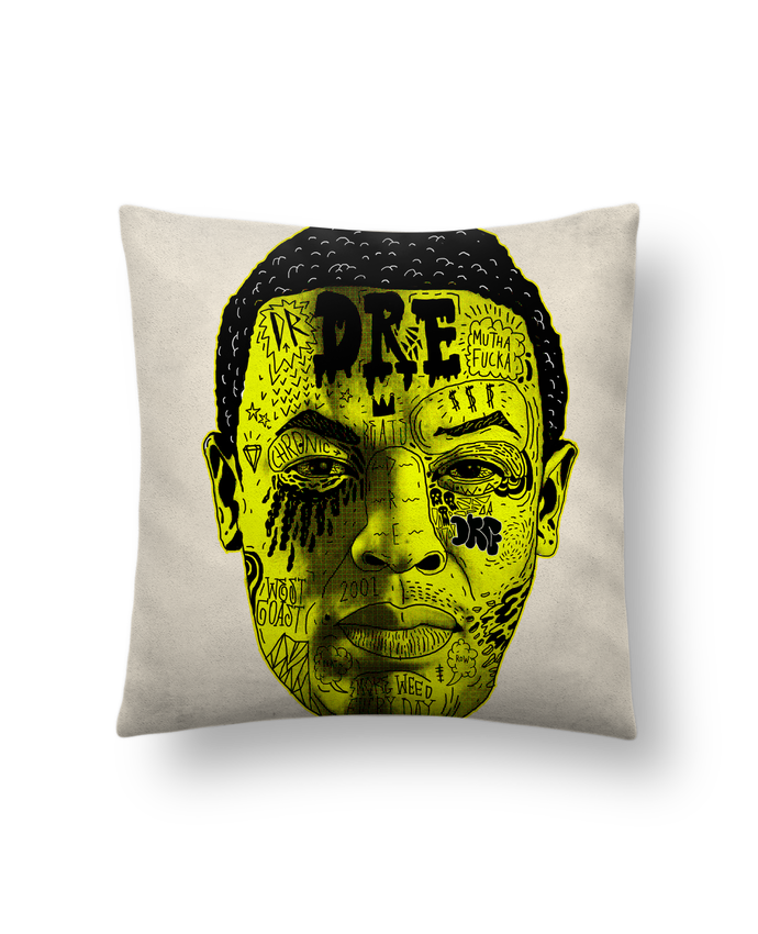 Cushion suede touch 45 x 45 cm Dr. Dre by Nick cocozza