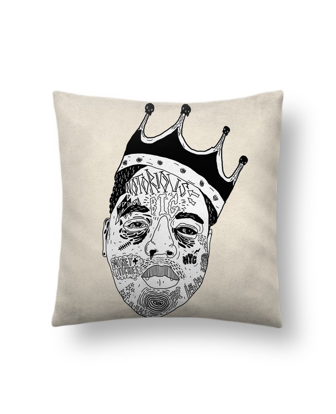 Cushion suede touch 45 x 45 cm Biggie by Nick cocozza