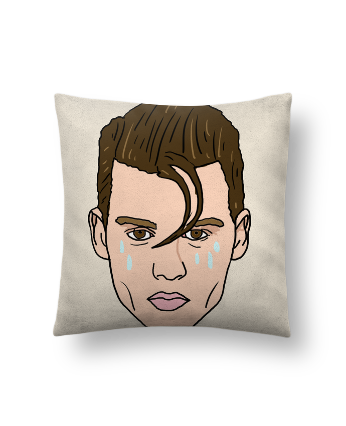 Cushion suede touch 45 x 45 cm Cry baby by Nick cocozza