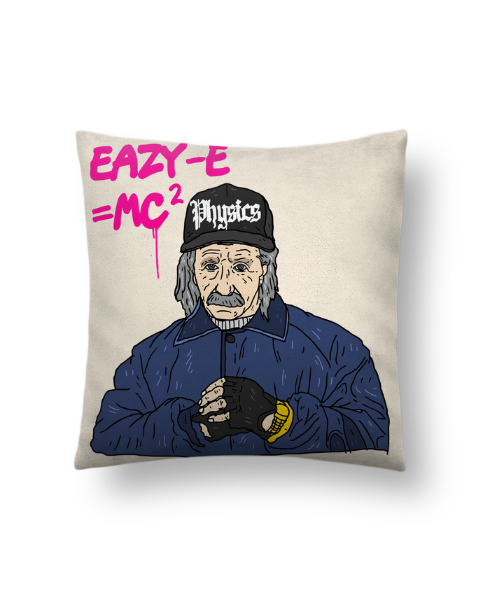 Cushion suede touch 45 x 45 cm Einstein by Nick cocozza