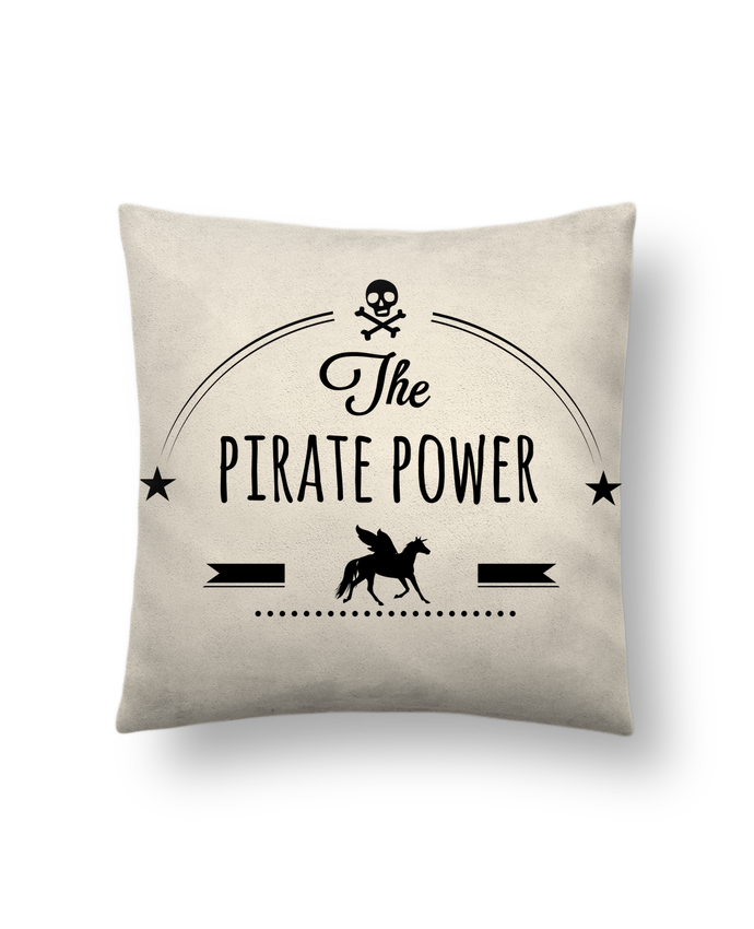 Cushion suede touch 45 x 45 cm Pirate Power by Studiolupi