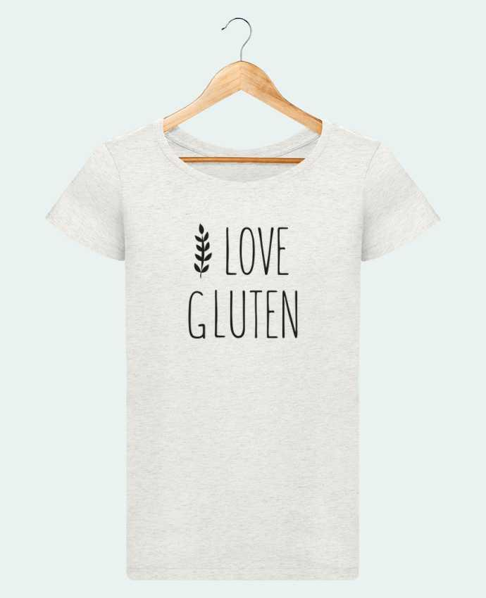 T-shirt Women Stella Loves I love gluten by Ruuud by Ruuud