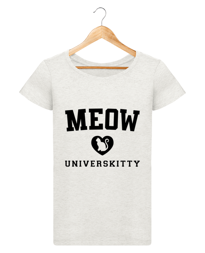 T-shirt Women Stella Loves Meow Universkitty by Freeyourshirt.com