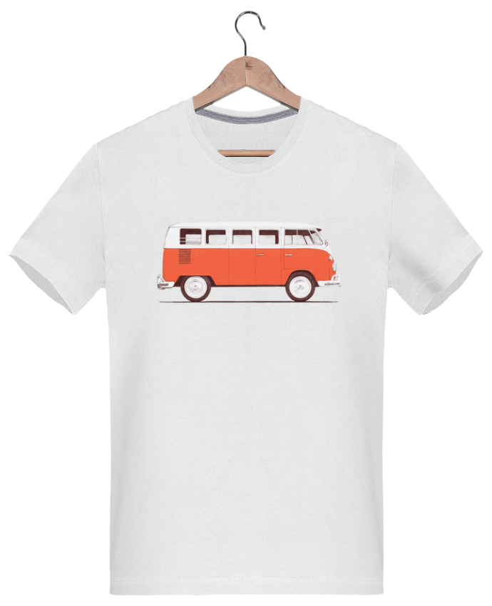 T-Shirt Men 180g Red Van by Florent Bodart