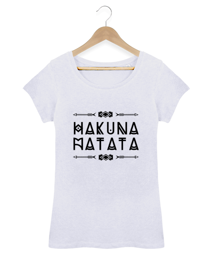 T-shirt Women Stella Loves hakuna matata by DesignMe