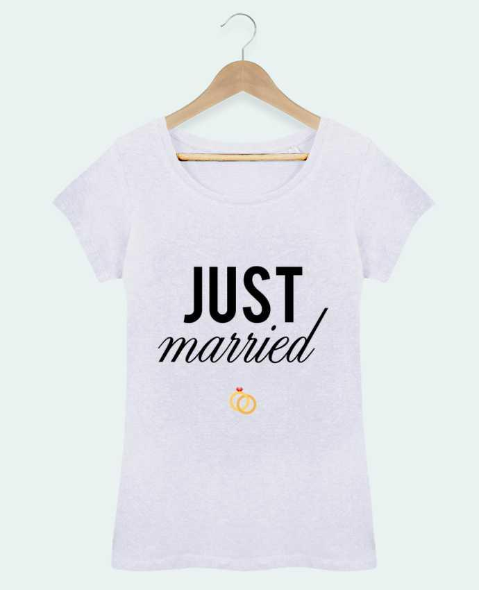 T-shirt Women Stella Loves Just married by tunetoo