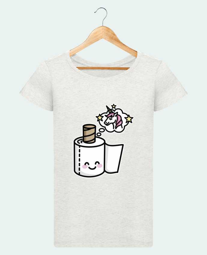 T-shirt Women Stella Loves Unicorn Toilet Paper by LaundryFactory