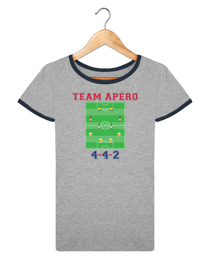 T-shirt Women Stella Returns Team apéro football pour femme by tunetoo