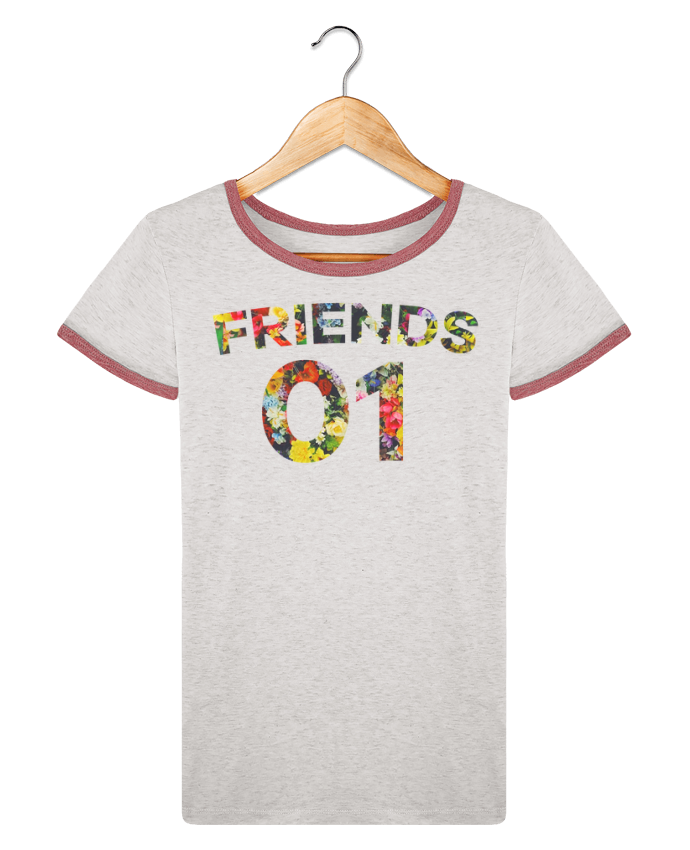 T-shirt Women Stella Returns BEST FRIENDS FLOWER 2 pour femme by tunetoo