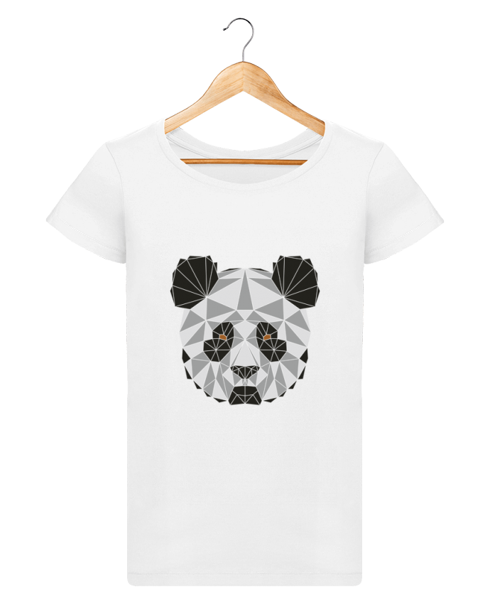 T-shirt Women Stella Loves Panda géométrique by /wait-design
