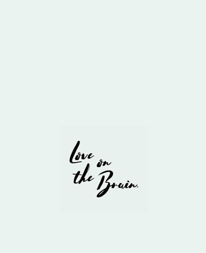 Tote Bag cotton Love on the brain by tunetoo