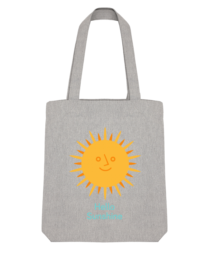 Tote Bag Stanley Stella HelloSunshine by chriswharton