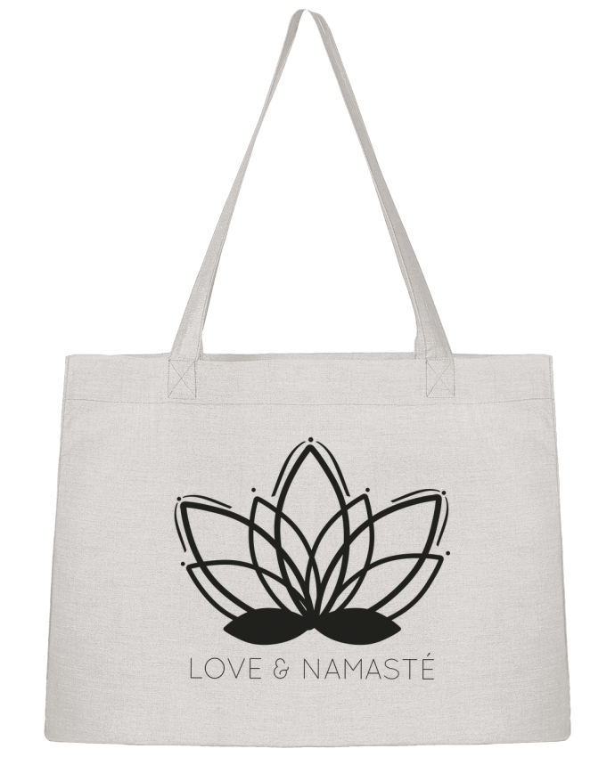 Shopping tote bag Stanley Stella Love & Namasté by IDÉ'IN
