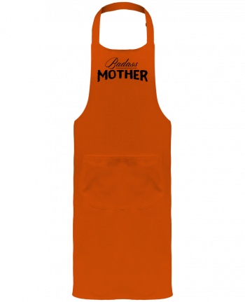 Garden or Sommelier Apron with Pocket Badass Mother by tunetoo