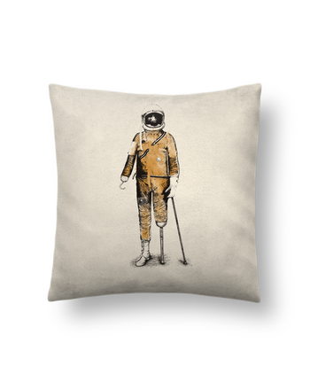 Cushion suede touch 45 x 45 cm Astropirate by Florent Bodart