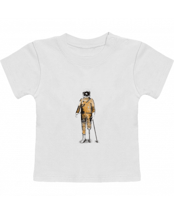 T-Shirt Baby Short Sleeve Astropirate manches courtes du designer Florent Bodart