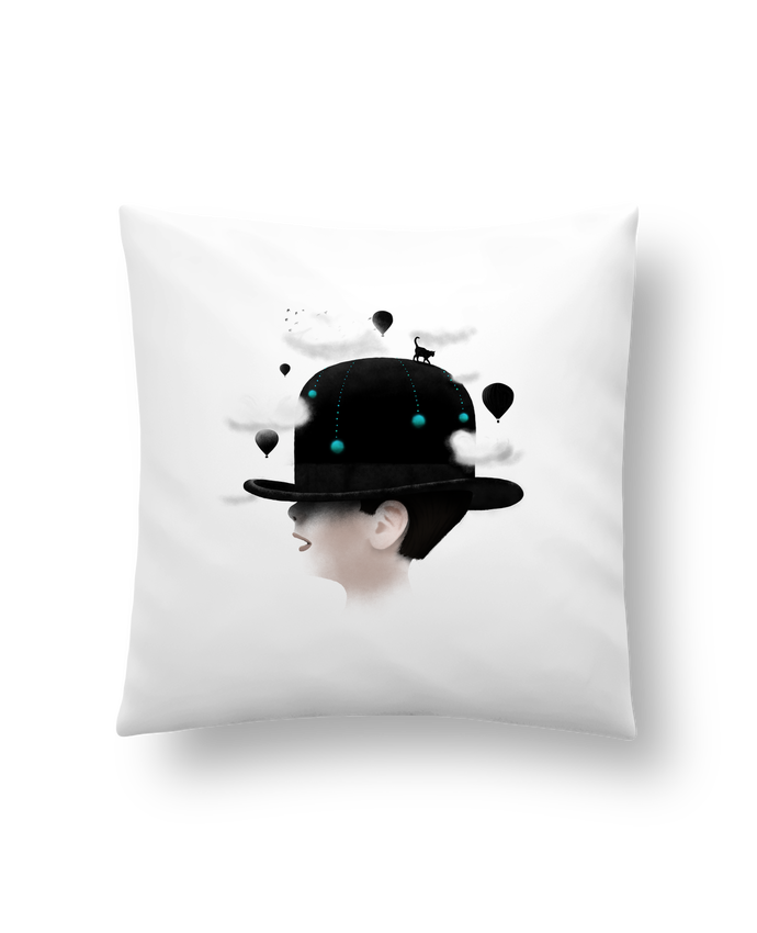 Cushion synthetic soft 45 x 45 cm Dreaming by Florent Bodart
