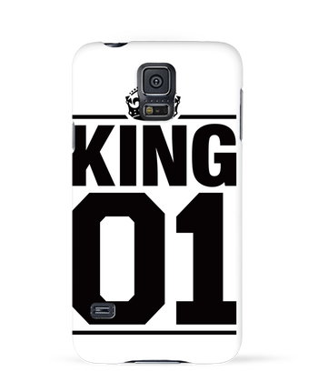 Case 3D Samsung Galaxy S5 King 01 by Freeyourshirt.com
