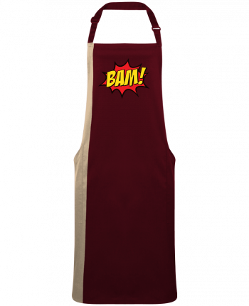 Two-tone long Apron BAM ! by  Freeyourshirt.com