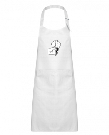 Kids chef pocket apron Ice cream by tattooanshort