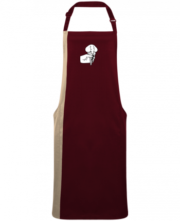 Two-tone long Apron Ice cream by  tattooanshort