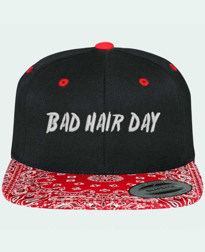 Snapback Cap pattern Bad hair day by tunetoo