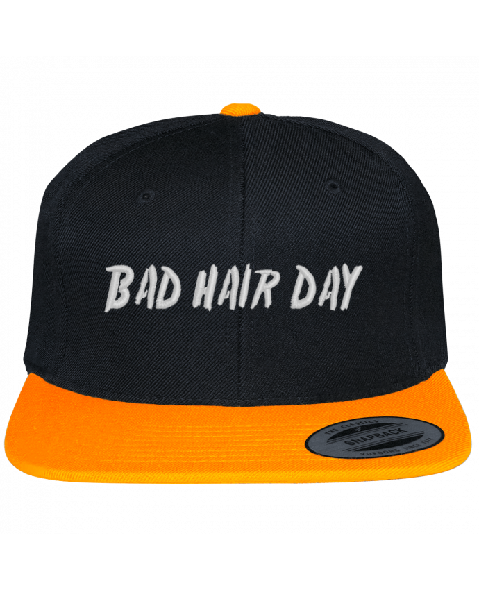 Snapback cap two-one varsity bicolore Bad hair day by tunetoo