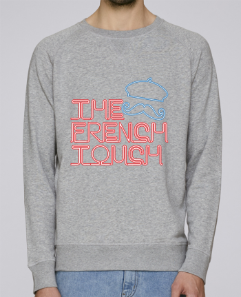 sweatshirt Men crew neck Stanley Strolls The French Touch by Freeyourshirt.com