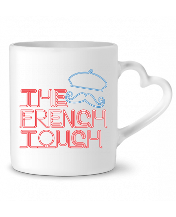Mug Heart The French Touch by Freeyourshirt.com