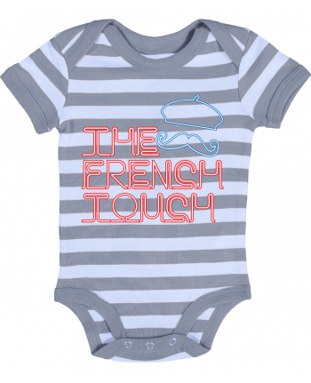 Baby Body striped The French Touch - Freeyourshirt.com