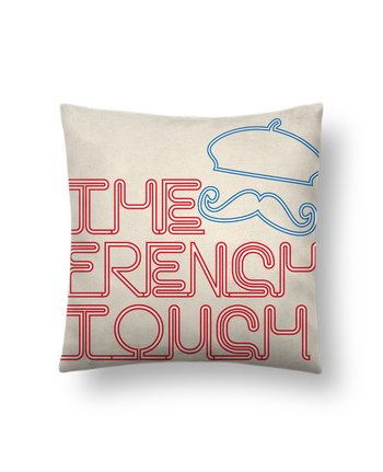 Cushion suede touch 45 x 45 cm The French Touch by Freeyourshirt.com