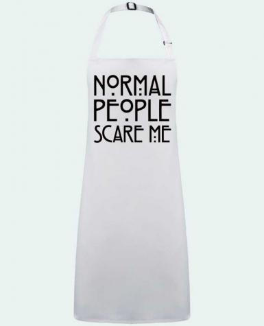 Apron no Pocket Normal People Scare Me by  Freeyourshirt.com