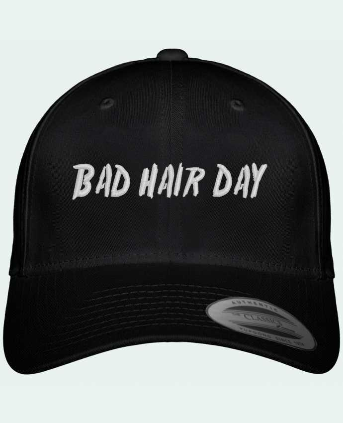 Casquette Flexfit 6 panneau Bad hair day by tunetoo