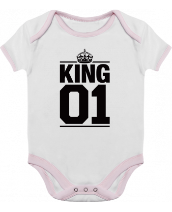 Baby Body Contrast King 01 by Freeyourshirt.com