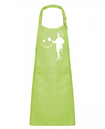 Kids chef pocket apron enfant by Graff4Art