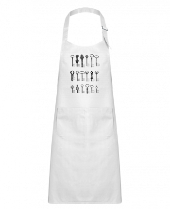 Kids chef pocket apron USB Keys by Florent Bodart