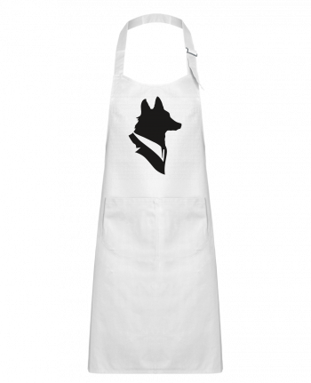 Kids chef pocket apron Mr Fox by Florent Bodart