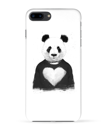 Case 3D iPhone 7+ lovely_panda by Balàzs Solti