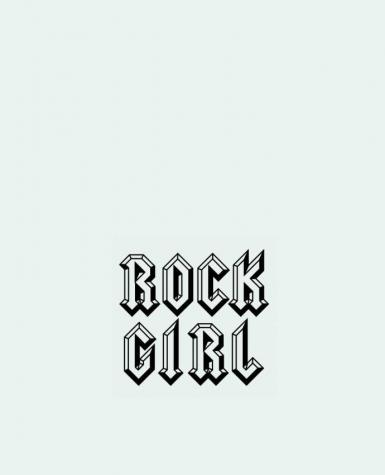 Tote Bag cotton Rock Girl by Freeyourshirt.com