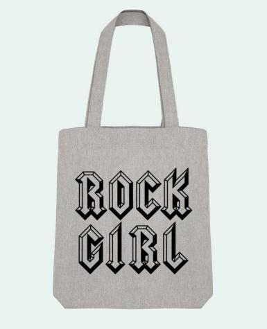 Tote Bag Stanley Stella Rock Girl by Freeyourshirt.com