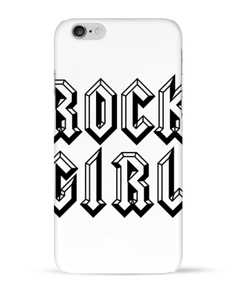 Case 3D iPhone 6 Rock Girl by Freeyourshirt.com